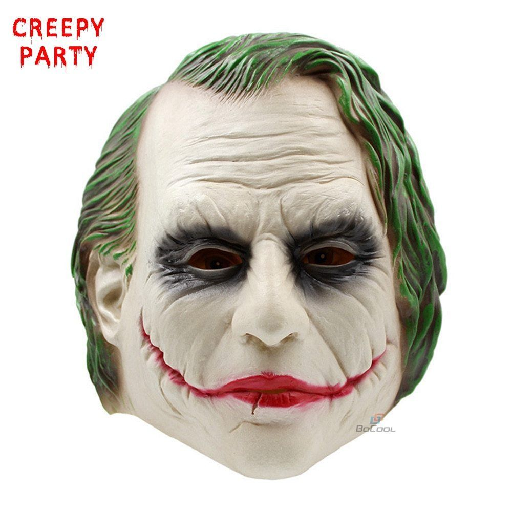 Scary Ghost Mask Party Cosplay Costume Bar Horror Mask Clown Zombie Unisex