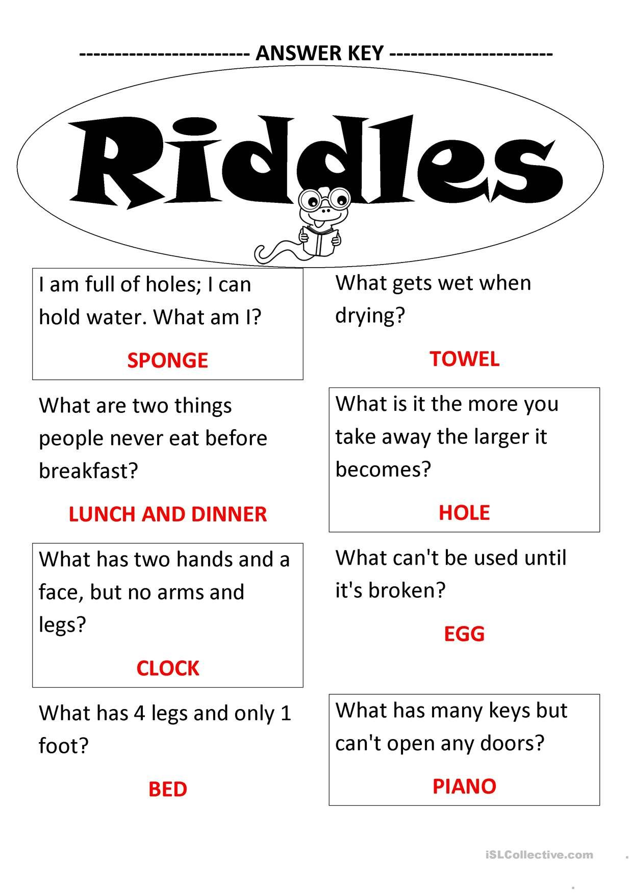 Oneclick print document Jokes for kids, Funny riddles