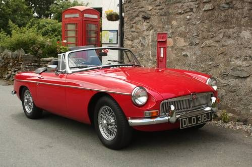 1971 mgb roadster heritage shell rebuild tartan red for British motor heritage mgb