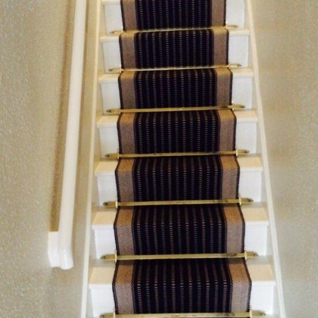 Roger Oates George Black Stair Runner Black Stairs