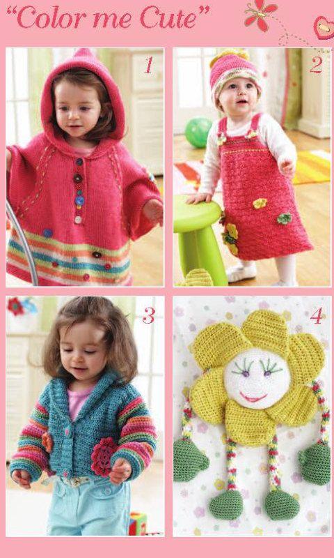 Bernat 530186 knitting and crochet patterns. PDF instant download ...