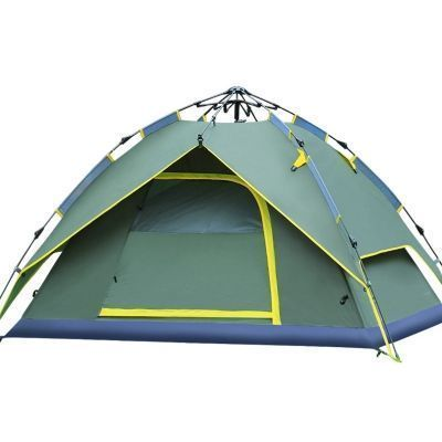 Outdoors Instant Tent Quick Pitch Tent 3-Person Family C&ing 3-Season Rainproof Dome  sc 1 st  Pinterest & Outdoors Instant Tent Quick Pitch Tent 3-Person Family Camping 3 ...