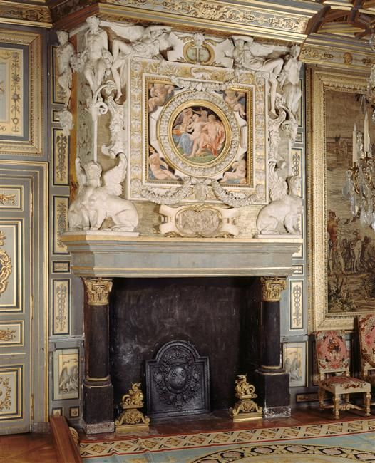 Title : Salon François Ier Description : Ancienne Chambre De La