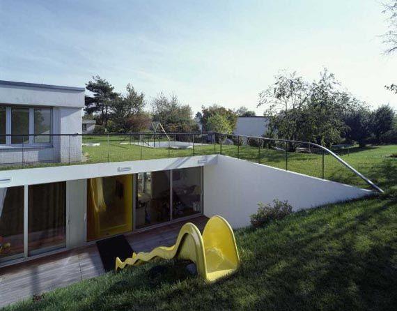 underground home | Modern Underground House Decorating Ideas With ...