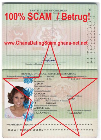 Dating-Betrug in accra ghana