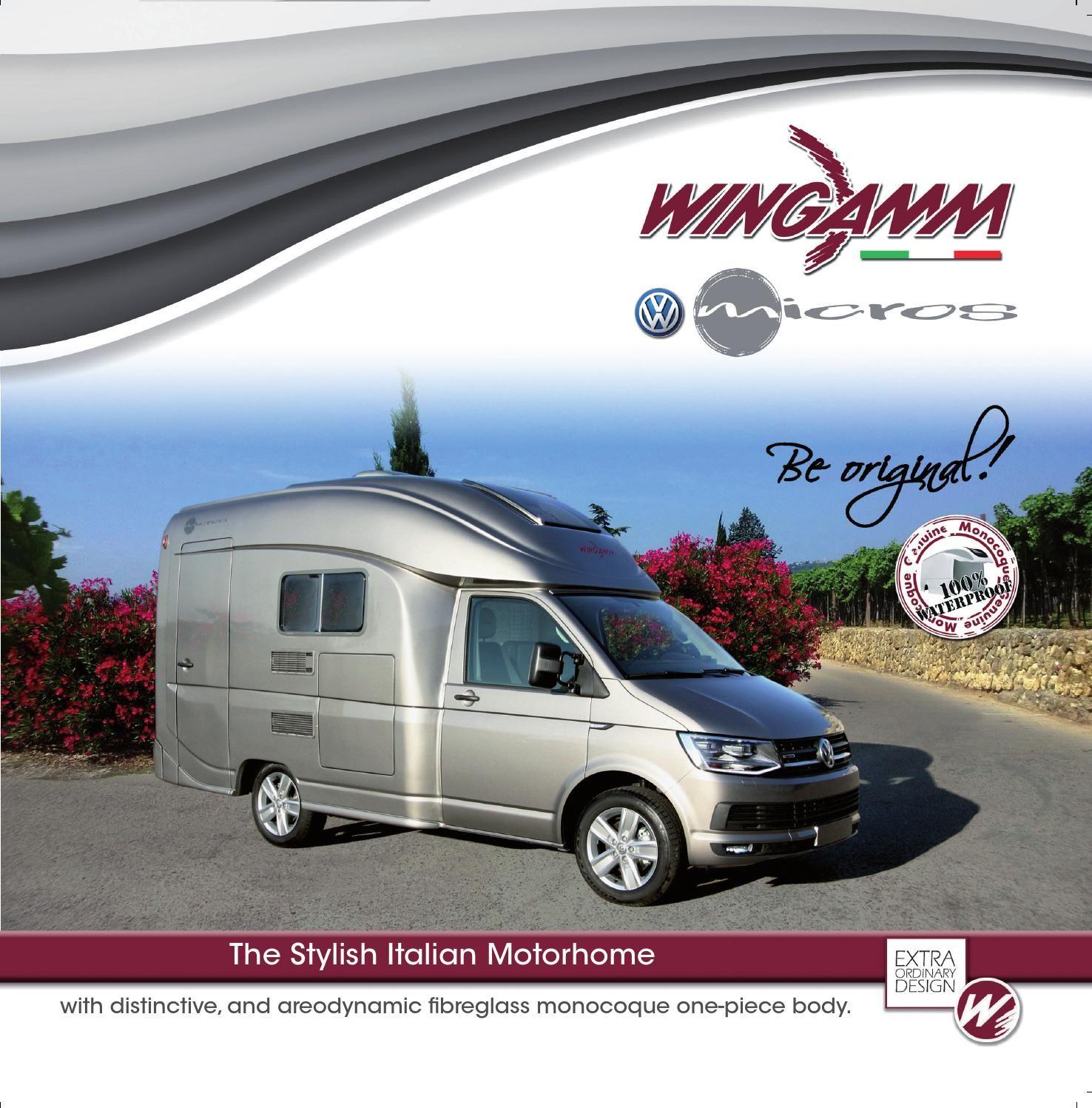 Wingamm Micros En Camping Camper Motorhome Car Camping