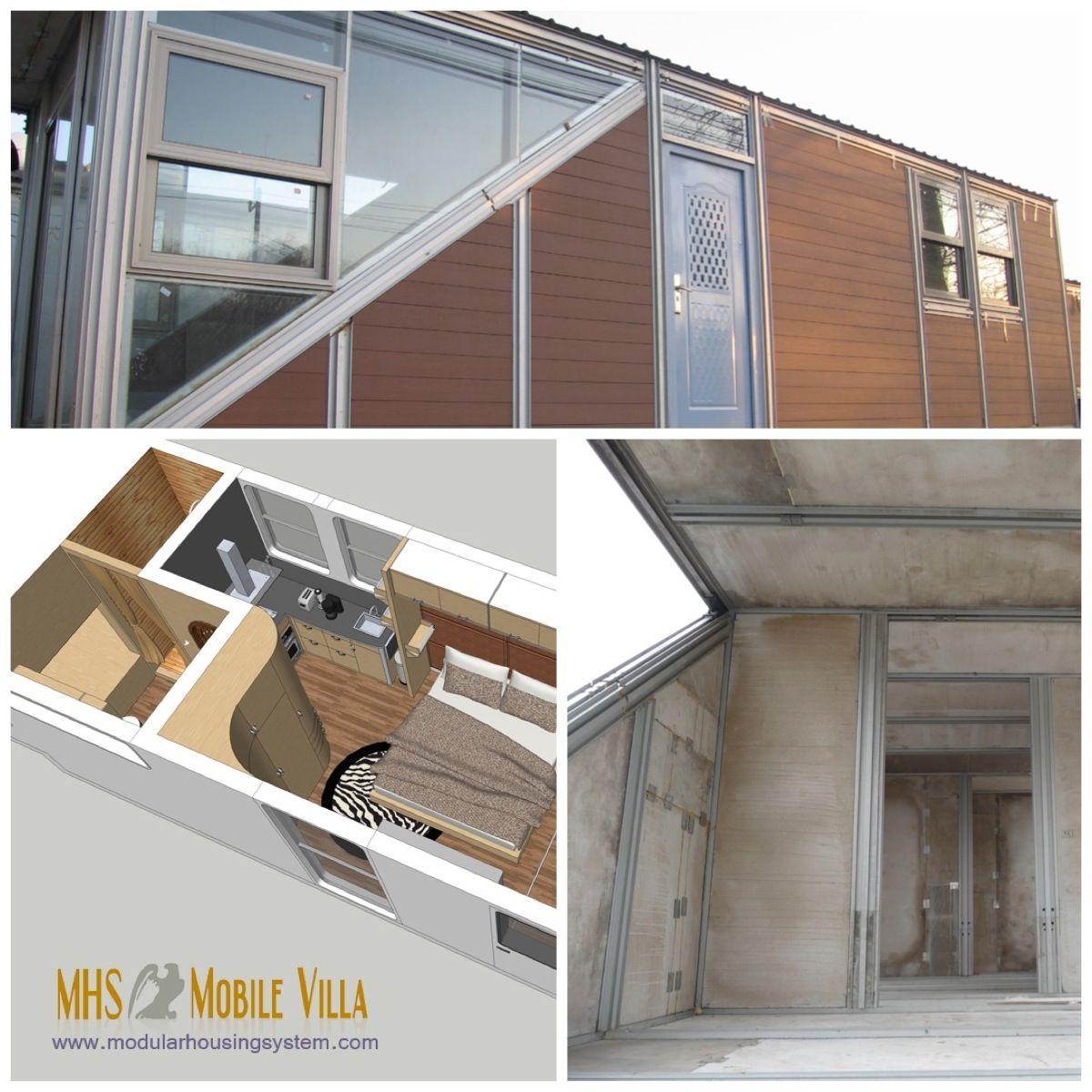 MHS MV built with MHS ALUMINUM FRAMING SYSTEM | Mobile prefab ...