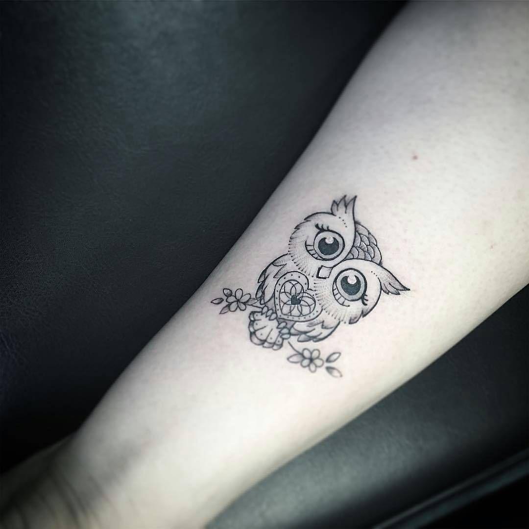 Búho Corazón Inkblots Tattoos Tattoo Designs Owl Tattoo Small