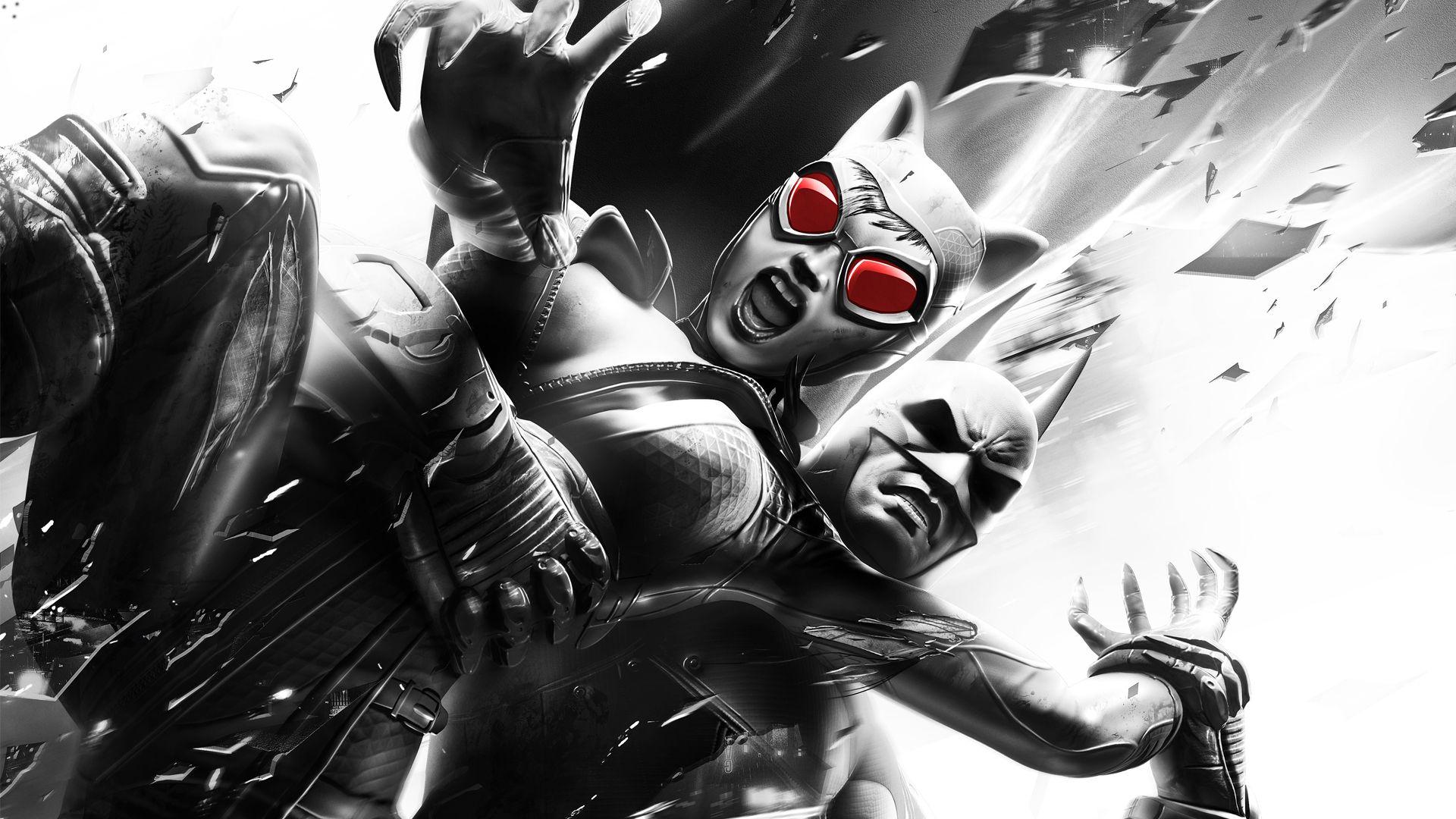 Catwoman Batman Arkham Asylum