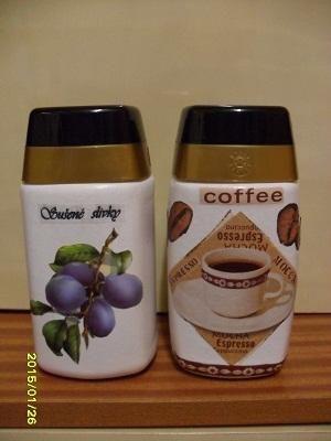 na sušené slivky a  kávu