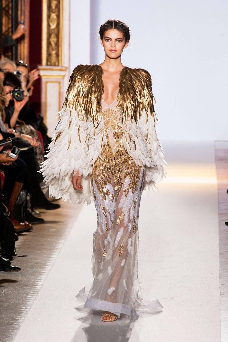 Zuhair murad spring haute couture collection zuhair murad