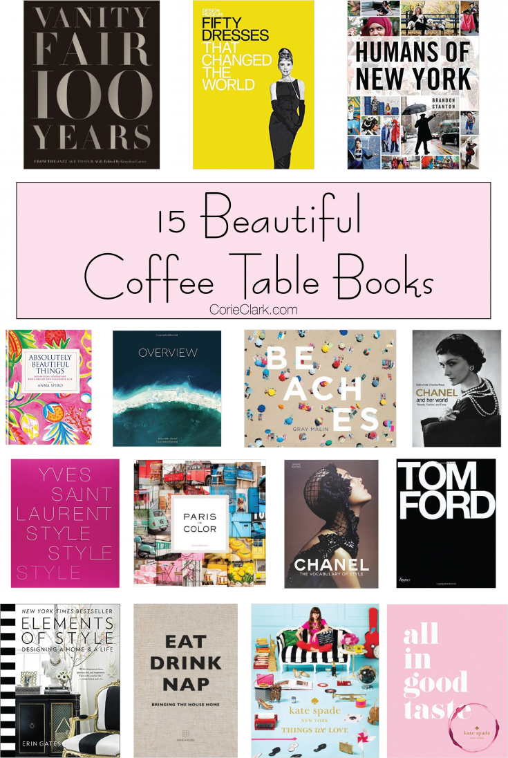 15 beautiful coffee table books coffee table books coffee beautiful coffee table books chanel eat drink nap all in good taste geotapseo Choice Image