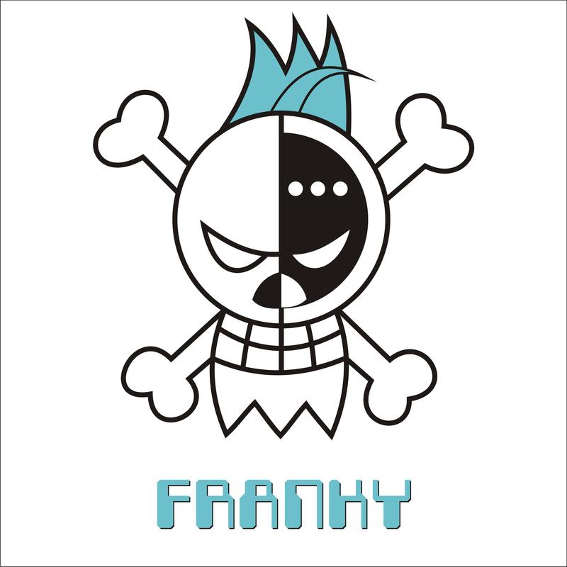 Franky Jolly Roger By Carlossakura On Deviantart Jolly Roger The Pirate King Anime