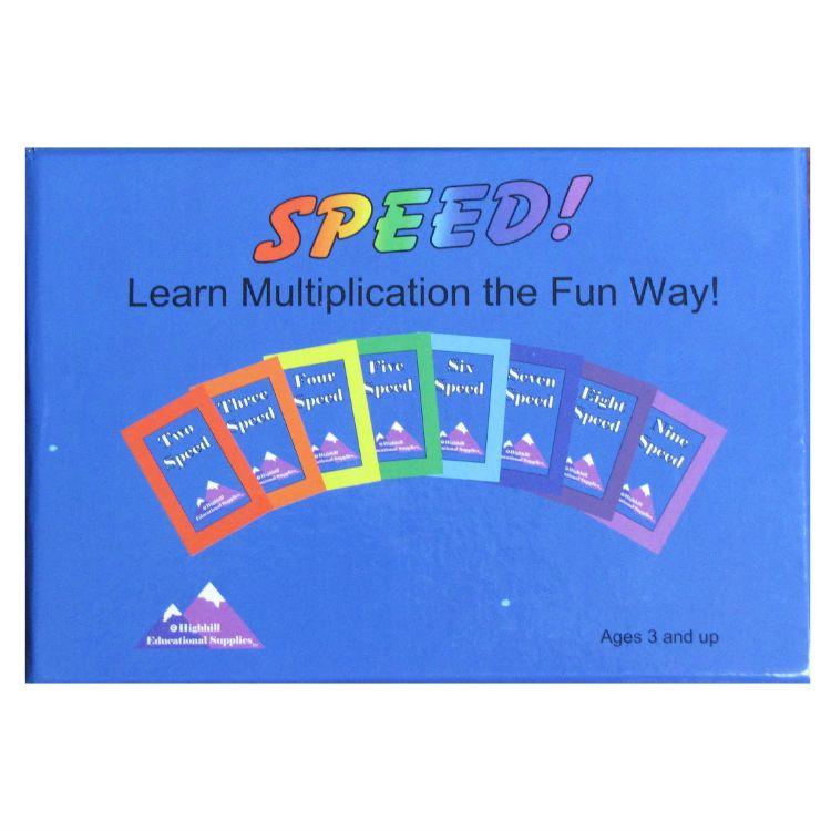 Speed | Multiplication, Maths and Homeschool math