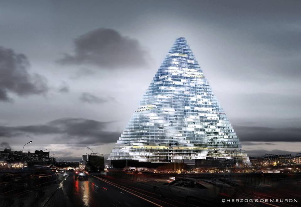 Herzog and de Meuron  Pyramid