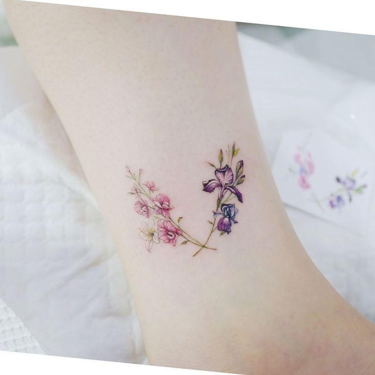 Birth month tattoos tattoos for daughters iris tattoo