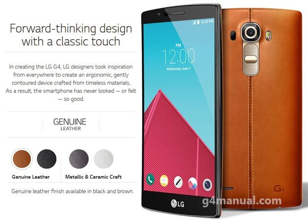 LG G4 Manual User Guide has specially to guide you the