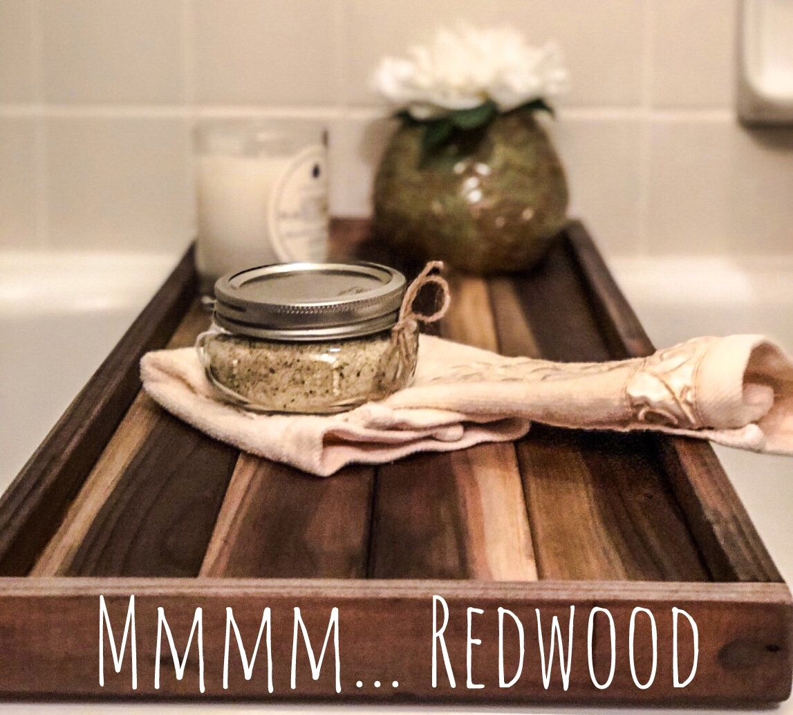 Is It A Bath Caddy Or A Bath Tray.. Come Get Your Redwood