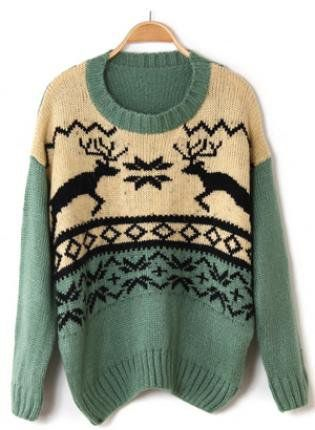 Cozy Christmas Sweater. So cute!
