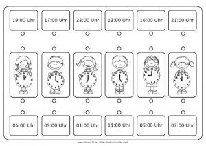 Uhr lernen arbeitsblätter  Wie spät ist es?, Uhr, Uhrzeit, lernen, Kinder, Eltern ...