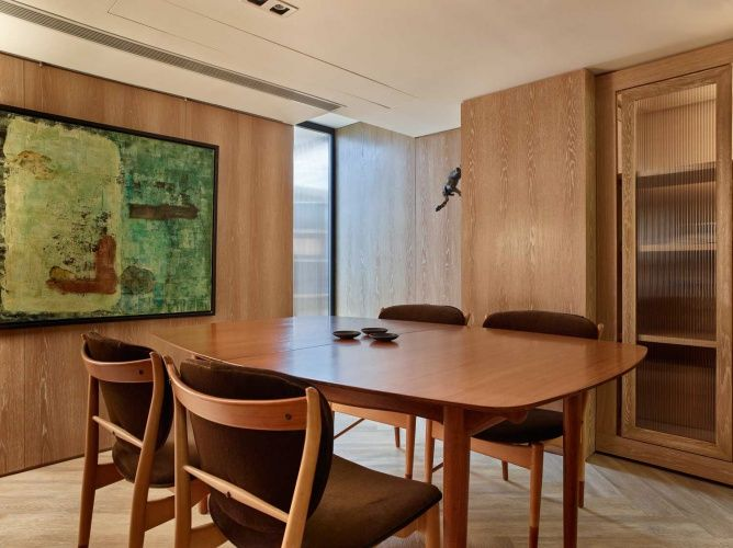Pinmiya Wu On 办公室  Pinterest Entrancing Basement Dining Room Decorating Design