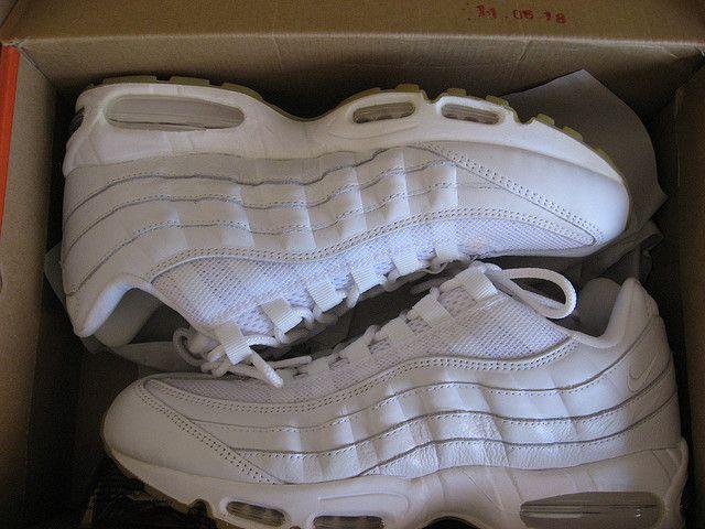 Nike air max, Air max 95 white