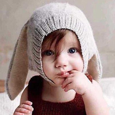 Toddler Kids Girl/&Boy Baby Infant Winter Hat Cute Ear Beanie Cap With Scarf