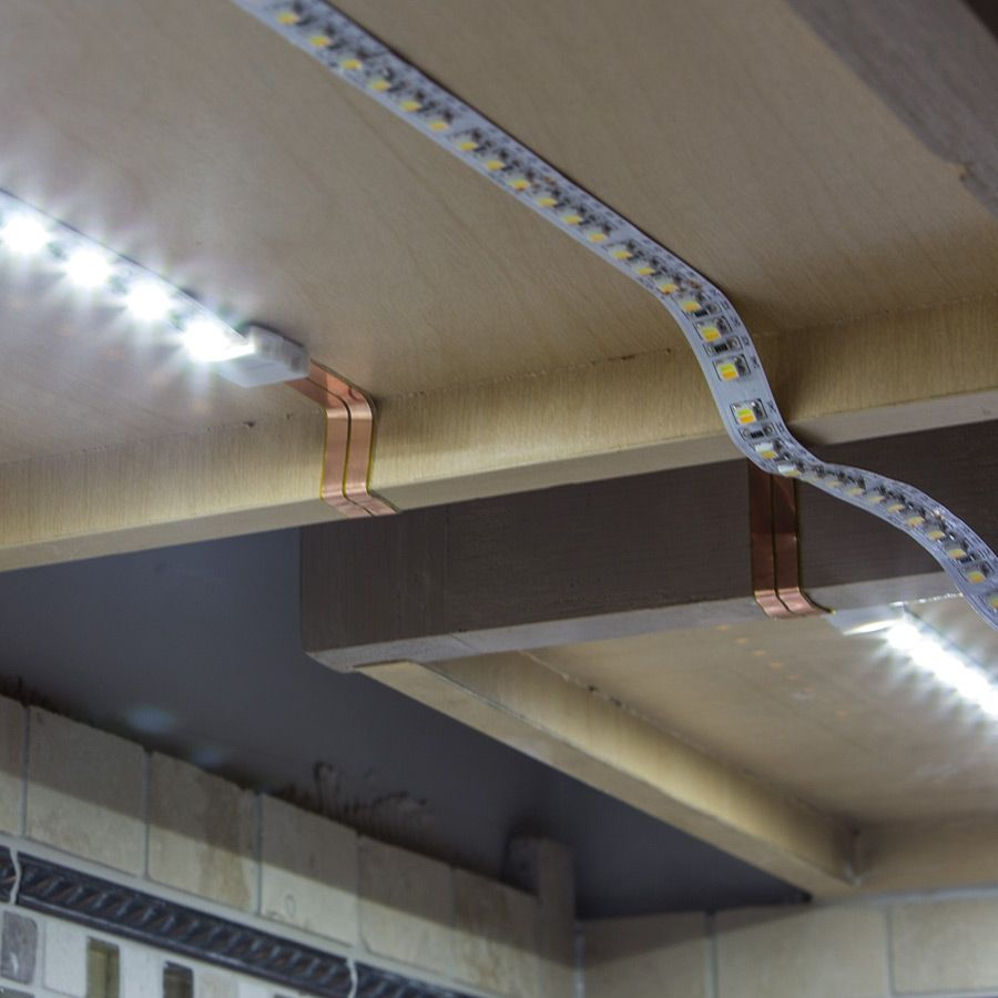 Direct Wire Led Tape Under Cabinet Lighting Intended For Your