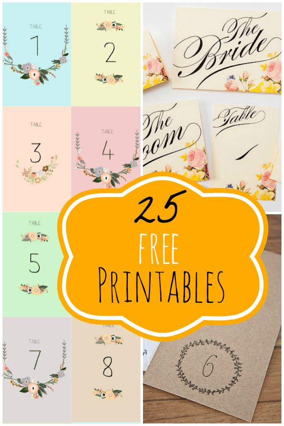 25 free wedding printables ペーパーアイテム pinterest wedding