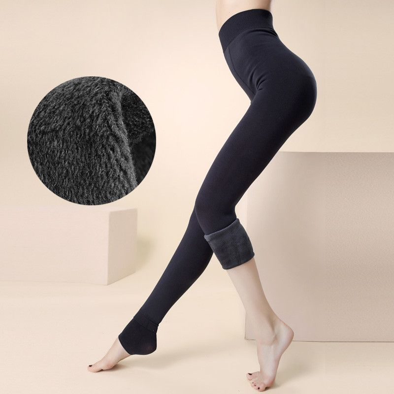 Trend Knitting Free shipping HOT SALE 2016 winter new High elastic thicken lady's Leggings warm pants skinny pants for women