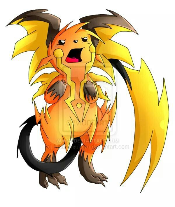 26 raichu pokemon mega evolve pokemon pinterest - Pokemon mega evolution y ...