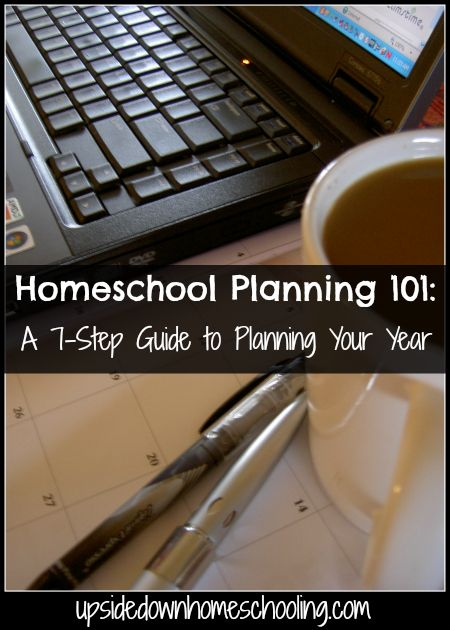 Homeschool Planning 101 {A 7-Step Guide to Planning Your Year}