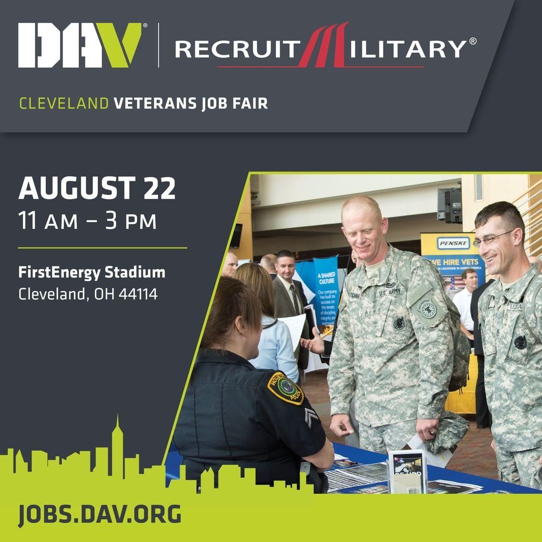 DAV and RecruitMilitary present a job fair for veterans