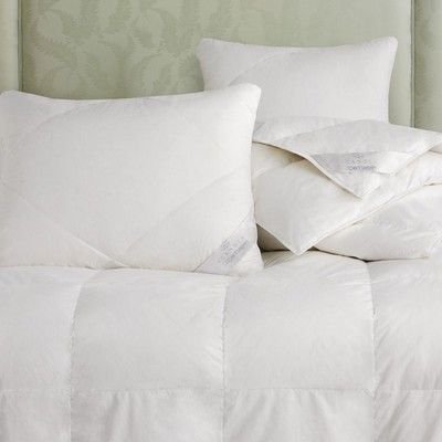 Copenhagen Quilted Pillow White Down Comforter Classic