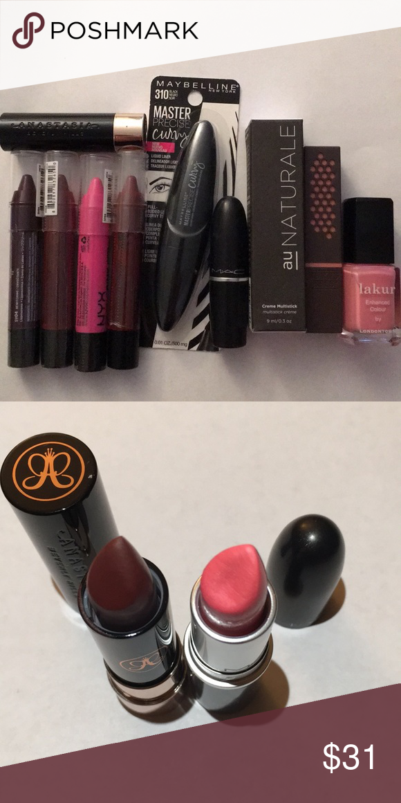 MAC Anastasia NYX Maybelline and More! Maybelline, Lip