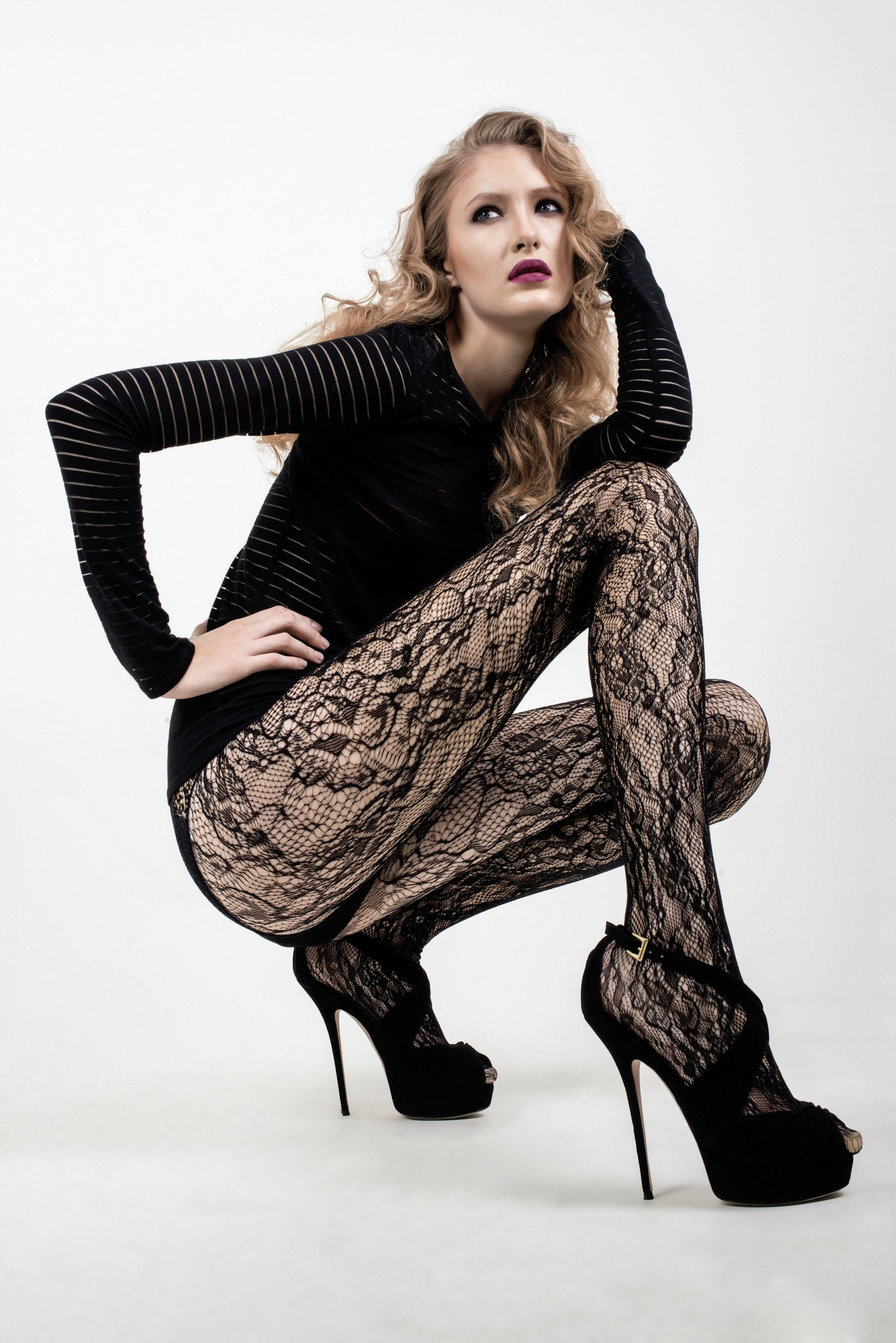 2e5d870ab Look like a total babe in these sexy fishnet pantyhose featuring a  Decorative Efflorescence Flowers. SHOP NOW AT WWW.ICONOFLASH.COM