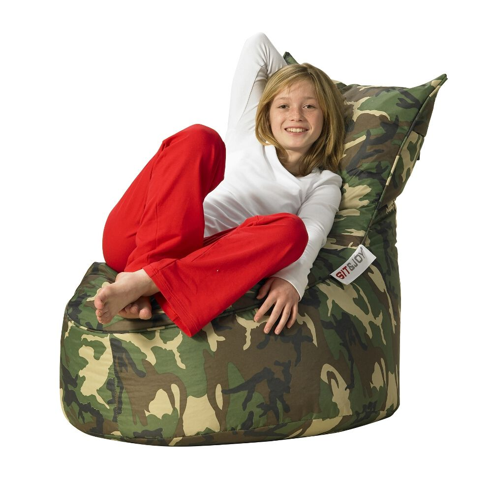 Sit Joy Balina Zitzak.Sit Joy Balina Camouflage Stoelen Camouflage En Slaapkamer