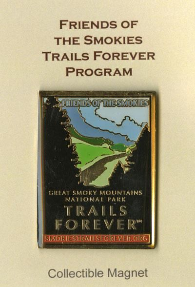 Great Smoky Mountains Association | Friends of the Smokies Trails Forever Magnet