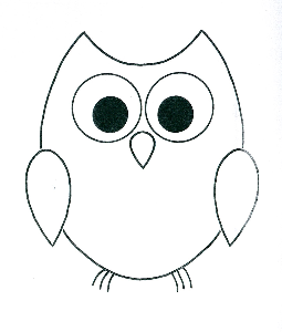 Simple Owl Outline DIY Gifts Pinterest Outlines Owl and Patterns