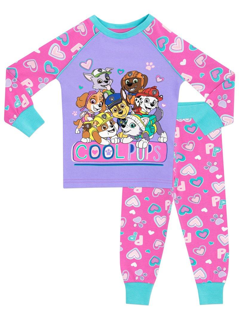 Paw Patrol Boys Chase Marshall and Rubble Pyjamas Snuggle Fit