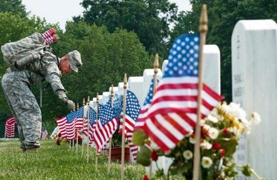 A Memorial Day Tribute The Sounds Of Arlington National Cemetery Http Bit Ly Kp3qgx Memorial Day History Of Memorial Day Memorial Day Thank You