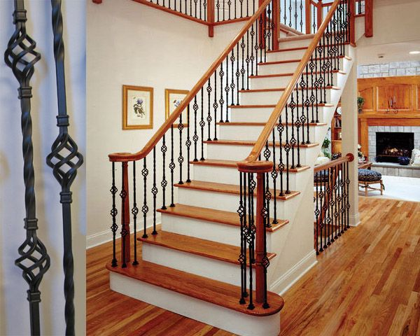 wrought iron interior stair railings i like it