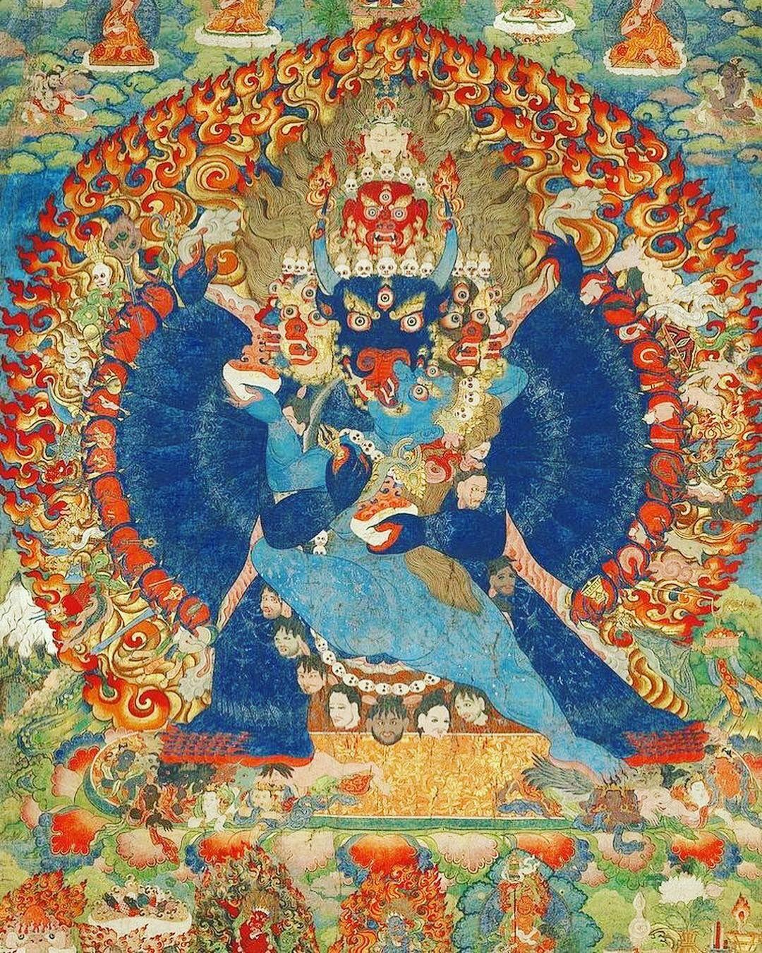 Yamantaka | Lumbini Buddhist Art Gallery - 2019