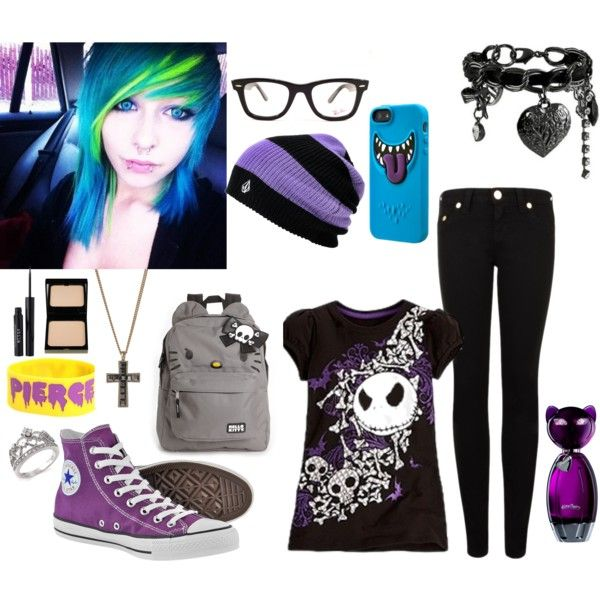 Outfits Emo Scene