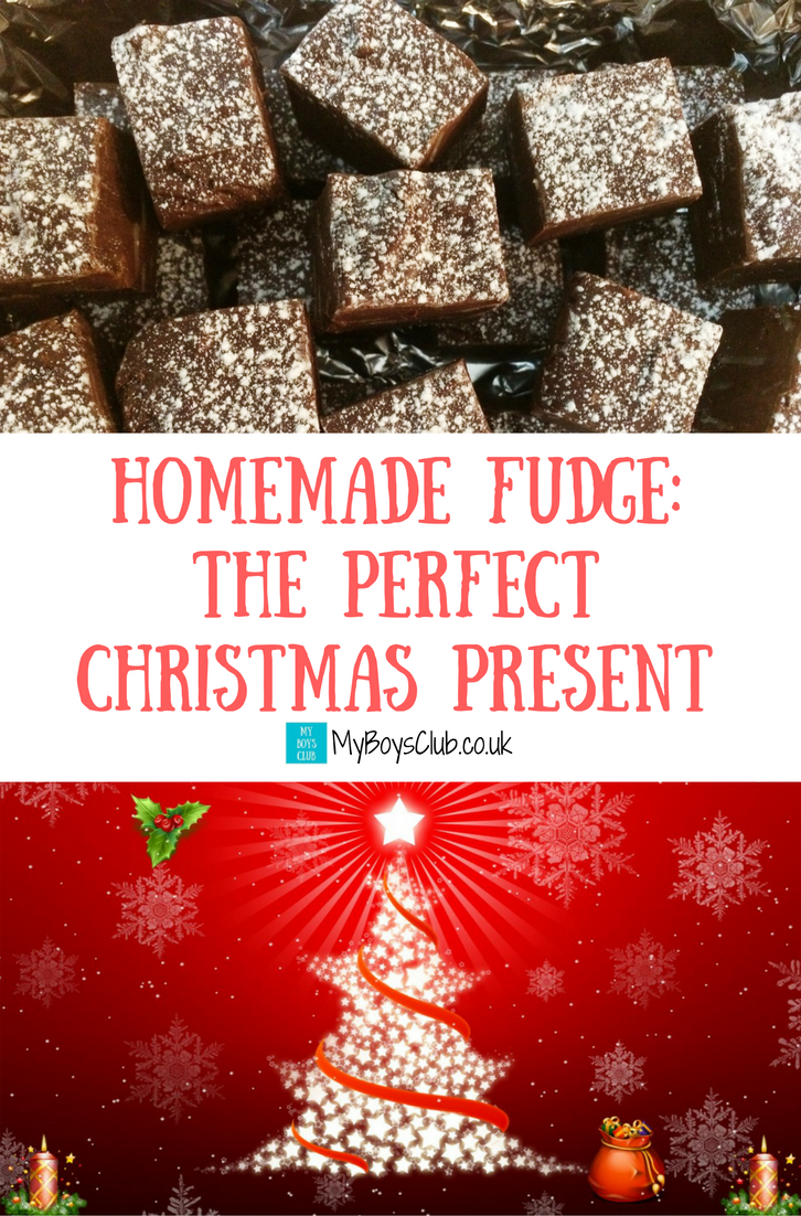 a quick and easy recipe to make homemade fudge a perfect christmas present or gift