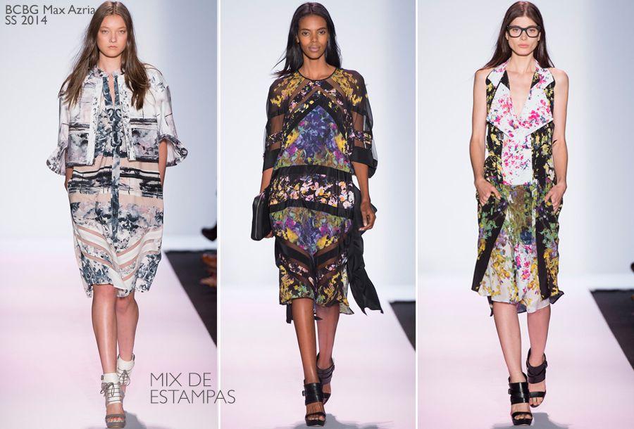 BCBG Max Azria Spring/Summer 2014 NYFW #fashionshow #fashion
