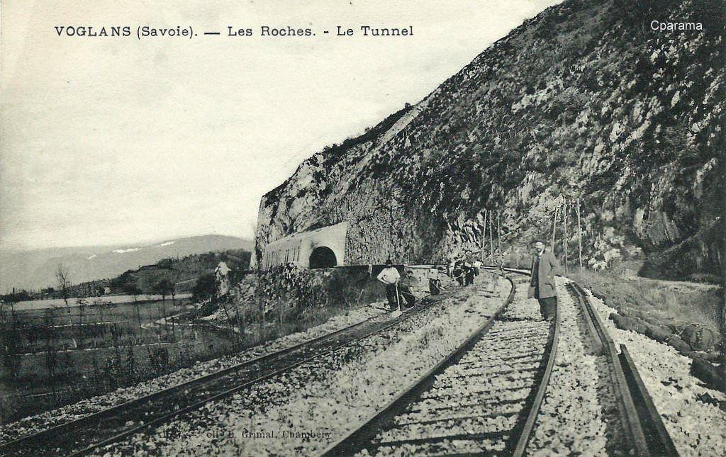 Voglans Savoie Les Roches Le Tunnel Savoie Chambery Aix