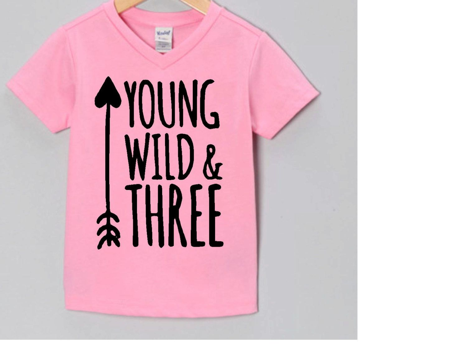 Toddler Girl Shirt Three Wildfreekidskid Gifts3rd Birthday Shirtsgirl Giftsbabygirl Shirtbaby Turns 3third By CayShaeDesigns On Etsy
