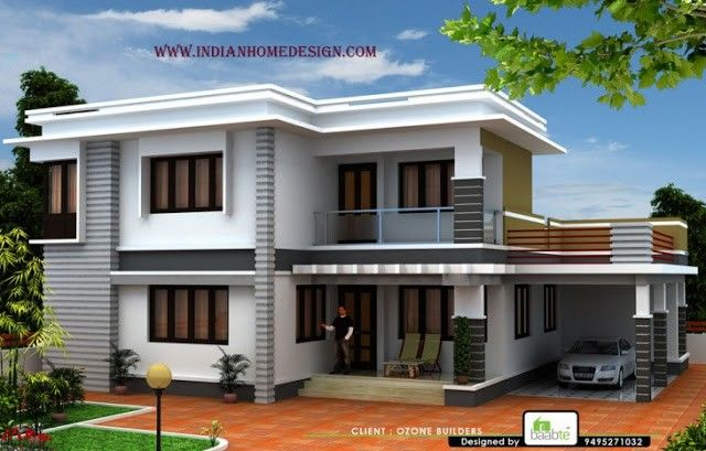 Pictures Of Kerala Houses And 3d Exterior Plan Small