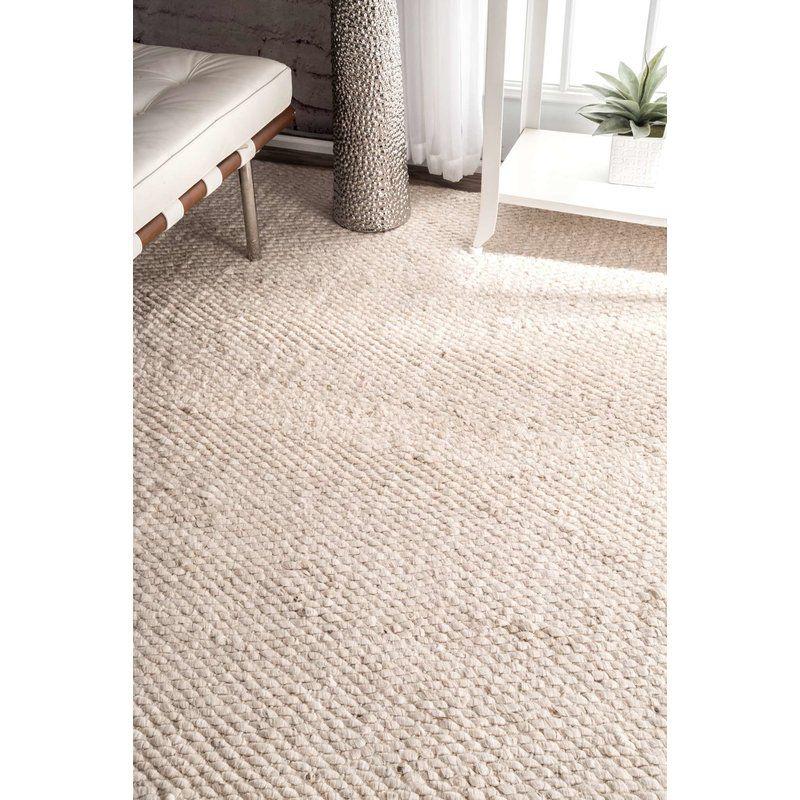 Beckett Handmade Tufted Jute Sisal Off White Rug Area Rugs Comfy Rugs Jute Rug Living Room